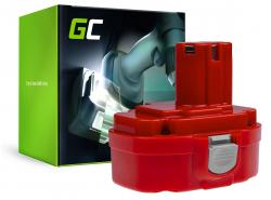 Green Cell ® Batteria 1822 1833 PA18 per Makita 4334D 6343D 6347D 6349D 6390D 8390D 8391D