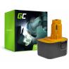 Batteria Green Cell (1.5Ah 12V) A9252 A9275 DE9037 DE9071 DE9074 DE9075 per DeWalt / Black&Decker KC120V KC1262F CD12C CD12CA