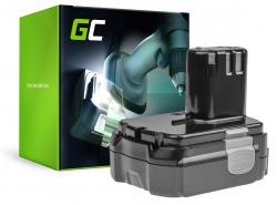 Green Cell ® Akku für Hitachi CJ14DL BCL1415 14.4V 2.5Ah