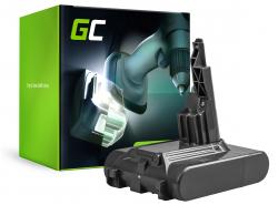 Batteria (2Ah 21.6V) 968670-02 968670-03 968670-06 SV11 Green Cell per Dyson V7 Animal Pro+ Absolute Car+Boat Trigger
