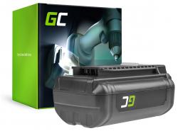 Batteria Green Cell (3Ah 36V) 5133002166 BPL3626D2 BPL3650 BPL3650D OP4026 RY36B60A per Ryobi RY40200 RY40403 RY40204 RY40210
