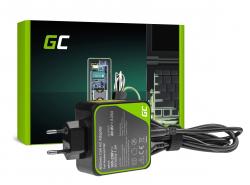 Alimentatore / Caricatore Green Cell PRO 20V 3.25A 65W per Lenovo Yoga 4 Pro 700-14ISK 900-13ISK 900-13ISK2