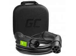 Cavo Green Cell GCev¹ Tipo 1 per caricare auto elettriche  (5m, 3,6kW,  16A, 3-fase)