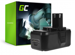 Green Cell ® Batteria ONE+ RB18L50 RB18L15 per RYOBI R18AG0 R18JS0 R18PDBL RCD18022L RID1801M RMT1801M