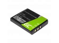 Green Cell ® Batteria NP-50 per FujiFilm F100, F200, F300, F500, F600, F700, F80, X10, X20 3.7V 750mAh