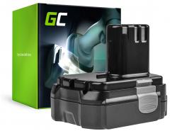 Green Cell® Batteria (1.5Ah 14.4V) BCL1415 BCL1425 BCL1430 EBL1430 per Hitachi CH14DL CJ14DL DH14DL DS14DL DV14DL WH14DL WR14DL