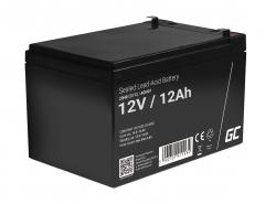 Green Cell ® Batteria al Gel AGM 12V 12Ah