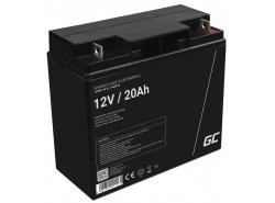 Green Cell ® Batteria al Gel AGM 12V 20Ah