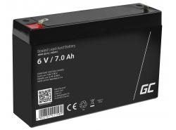 Green Cell ® Batteria al Gel AGM 6V 7Ah