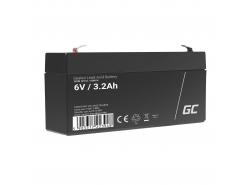 Green Cell ® Batteria al Gel AGM VRLA 6V 3.3Ah