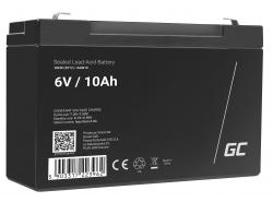 Green Cell ® Batteria al Gel AGM VRLA 6V 10Ah
