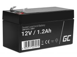 Green Cell ® Batteria al Gel AGM VRLA 12V 1.2Ah