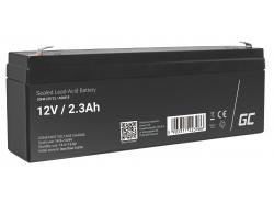 Green Cell ® Batteria al Gel AGM VRLA 12V 2.3Ah