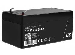 Green Cell ® Batteria al Gel AGM VRLA 12V 3.3Ah