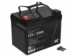 Green Cell ® Batteria AGM VRLA 12V 33Ah