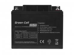 Green Cell ® Batteria al Gel AGM VRLA 12V 40Ah
