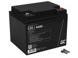 Green Cell ® Batteria al Gel AGM VRLA 12V 44Ah