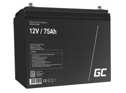Green Cell ® Batteria al Gel AGM VRLA 12V 75Ah