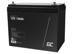 Green Cell ® Batteria al Gel AGM VRLA 12V 84Ah