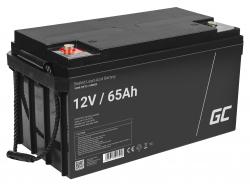 Green Cell ® Batteria AGM VRLA 12V 65Ah