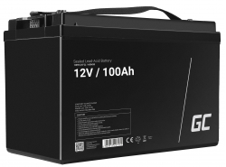 Green Cell ® Batteria AGM VRLA 12V 100Ah