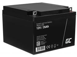 Green Cell ® Batteria AGM VRLA 12V 26Ah