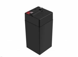 AGM Battery al piombo 4V 4Ah Ricaricabile Green Cell per registratori di cassa e bilance