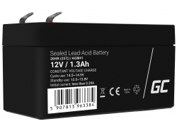 AGM Battery al piombo 12V 1.3Ah Ricaricabile Green Cell per auto e scooter elettrici