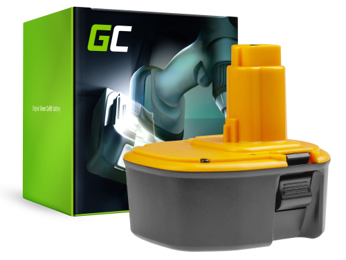 Batteria Green Cell (2Ah 14.4V) DE9502 DE9094 DE9091 DW9091 DE9092 DW9094 DC9091 per DeWalt DC528 DW984 DC728KA DC984KB