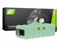 Batteria Green Cell (6Ah 14.4V) 80501 X-Life per iRobot Roomba 500 510 530 550 560 570 580 600 610 620 625 630 650 800 870 880