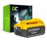 Batteria Green Cell (5Ah 18V) DCB180 DCB181 DCB182 DCB183 DCB184 DCB185 DCB200 XR per DeWalt DCD776 DCF899P2 DCD796P2 DCF885