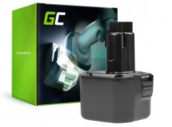 Green Cell ® Akku für Dewalt DE9036 DE9061 9.6V 2Ah