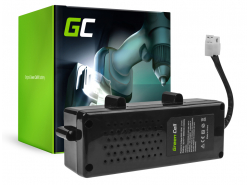Batteria Green Cell (5Ah 32.4V) F016104299 per Bosch Indego 800 850 1000 1100 1200 Connect