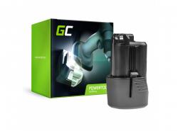 Batteria Green Cell (1.5Ah 10.8V) GBA 12V 2607336333 D-70745 2607336013 BAT414 per Bosch GAS GLI GSR 10.8V-LI 10.8V-LI