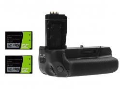 Impugnatura Green Cell BG-E18 + 2x Batteria LP-E17 1000mAh 7.4V per Canon EOS 750D T6i 760D T6s