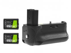 Impugnatura Green Cell VG-A6300RC per la fotocamera Sony A6000 A6300