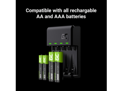 Set caricabatterie Green