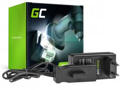 Green Cell ® Caricabatterie 21V per Gardena 18V 9839-20 9840-20 BLi-18 ComfortCut Li-18/23 EasyCut Li-18/23 TCS Li-18/20