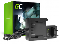 Green Cell ® Caricabatterie 29862 29702 25.2V per GreenWorks 21.6-24V Li-Ion 29842 29852 G24 G24B2 G24CD GD24IW