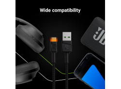 Cavo Quick Charge 3.0, GC Ultra Charge, Samsung AFC