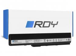RDY Batteria A32-K52 per Asus A52 A52F A52N K42 K52 K52D K52F K52J K52JB K52JC K52JE K52JR K52N X52 X52F X52J X52N