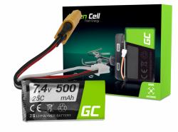 Batteria Green Cell 500mAh 7.4V XT60