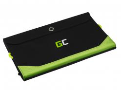 Caricatore solare Green Cell GC SolarCharge 21W - Pannello solare con 10000 mAh Powerbank funzione USB-C PD 18W USB-A QC