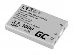 Green Cell ® Batteria EN-EL14 per Nikon D3200, D3300, D5100, D5200, D5300, D5500, Coolpix P7000, P7700, P7800 7.4V 1150mAh