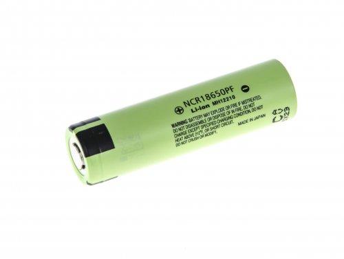 Li-Ion Panasonic Cellule 18650 NCR18650PF 2900mAh