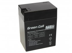 Green Cell ® Batteria al Gel AGM 6V 14Ah