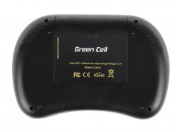 Green Cell ® Tastiera Senza Fili 2.4GHz Touchpad Android Smart TV OS X PC Windows