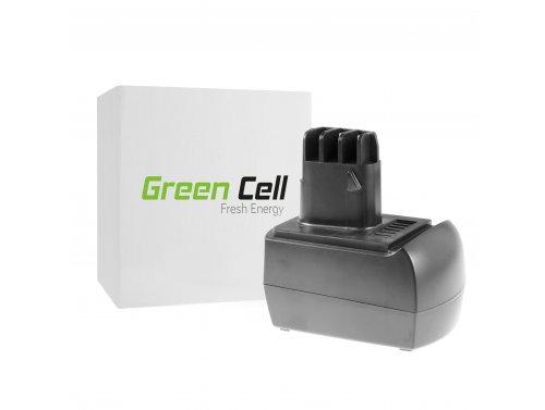 Green Cell ® Batteria per Metabo BS 12 SP BSZ 12 12V 2Ah