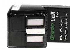 Green Cell ® Batteria per FESTOOL BPH9 6C 96ES 9.6V 2Ah