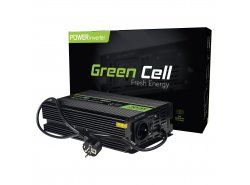 Green Cell® 300W/600W Invertitore Onda Pura DC 12V AC 230V UPS Inverter Peak Onduleur